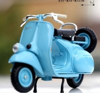Wholesale 1 classic Roman holiday Vespa small sheep pedal motorcycle model simulation