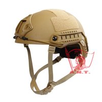 ballistic helmet - Tactical helmet IDEAL The Highest Quality Version FAST Ballistic Helmet TAN BK