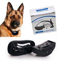 Wholesale Anti Bark Collar No Barking Collar Levels Dog Training Shock Collar DHL sets