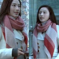 beijing knitting - Beijing Youth Zhang Li autumn and winter mohair knit with bevel mermaid spell color female scarves manufacturers