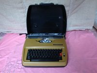 Wholesale Function easy to use the Japanese original HANIMEX electric typewriter English old typewriter detail there
