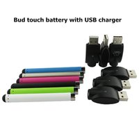 vape battery - O pen vape battery with USB charger high quality bud touch battery with USB charger for cbd cartridge