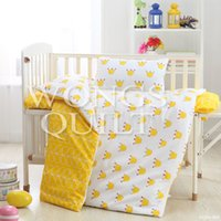 Wholesale 2015 New Children Bedding Set Cotton Cartoon Baby Cot Bed Quilt Covers Home Textile Duvet Cover Set for sale