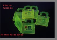 Wholesale Nano Cloud Unlock Card R SIM10 for iPhone S S of IOS GSM CDMA WCDMA