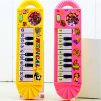 Wholesale Baby Infant Toddler Kids Musical guitar Piano Developmental Toy Early Educational music toys instruments for children play doh