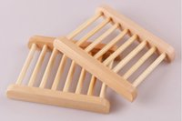 Wholesale JJ Wooden Soap Dishes Bathroom Soap Tray Soap Holder Soap Box