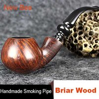 Cheap briar smoking pipe Best tobacco filter cigarette