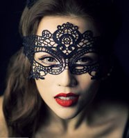 Wholesale Explosion models sexy lace mask masquerade mask fun goggles photo photography black mask dance