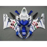 plastic injection molding - Motorbike Fairing Kits For Yamaha YZF R6 ABS Plastics Motorcycle Bodywork Fiat Painting ABS Injection Molding Fairing Kits