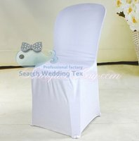 used chair covers for sale - Not Sale White Plastic Spandex Chair Cover Universal Chair Cover Used For Plastic Chair