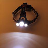 Wholesale Portable Outdoor LED CREE T62R2 led Headlamps Camping Aluminum Alloy Battery Lumen LED Flashlight Headlights Bulbs SP LH