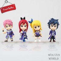 ai pop - 4pcs Animation Toys Fairy Tail Q Ver AI Lusha Shoka Leto Model POP cm Action Figures PVC Superior Gifts