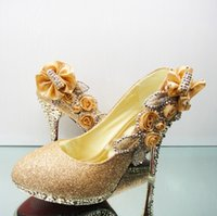 Cheap wedding shoes Best shining Party shoes