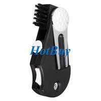 Wholesale Pocket Golf Divot Tool Groove Cleaner Brush Ball Marker Score Counter