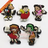 Wholesale EL Chavo paper clip binder clip plastic clip Paper Clips Creative bookmarks cartoon bookmarks soft rubber PVC bookmarks for stationery