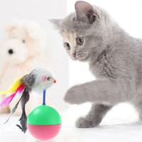 Wholesale Pet Cat toys Tumbler toy Training Funny Mouse Mice Play Toy Tumbler Ball Gift Pet Supplies