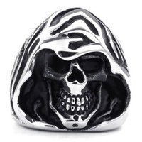 Cheap Vintage Gothic Dragon Stainless Steel Biker Mens Ring, Black Silver,semi precious stone jewelry wholesale