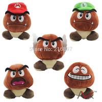 Wholesale 13cm Super mario bros Chestnut Supermario Plush Toys