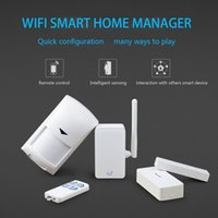 Wholesale Broadlink S1C WiFi Smart Home Control Wireless Remote Control Home Intelligent Automation fir IOS iPhone Android Smart Home System