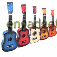 Wholesale Musical Instruments quot Guitar Mini Guitar Basswood Kid s Musical Toy Acoustic Stringed Instrument with Plectrum