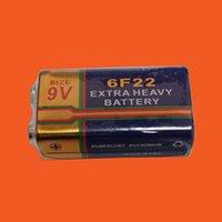 Wholesale 6F22 V battery sensor detector battery remote control batteries ordinary batteries V block battery