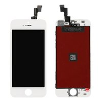 b grade hot - For The hot sell B grade of white iphone s lcd screen and digitizer touch assembly with frame for replacement