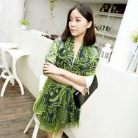 Wholesale Jennifer confusion Korean female long scarf spring sun Persian pattern scarf shawl scarf air conditioning dual