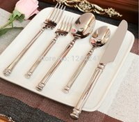 best western china - set Stainless Steel Best Value Imperial Palace Knife and Fork Spoon Western Tableware Five piece