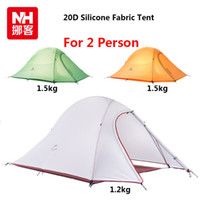 Wholesale 2015 New Fashion Only kg Person Tent D Silicone Fabric Tent Double layer Tent Tourist Camping Tent Lightweight Tent