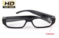 audio lens - New fps Camera Eyewear Ultra thin flat glasses on the left lens Hidden Spy SunGlasses camera Dvr Video Audio Recorder Mini DV
