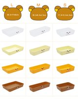 toy organizer box - Eco Friendly Food Storage Boxes Popular Superior PP Plastic Storage Boxes for Snacks Cartoon Pattern Outlook Hot Sale