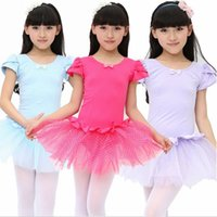 baby dance leotards - Child Kids Baby Girls Leotard Ballet Dress Dancewear Dance Costume Vestido Skating Gymnastics Dancing School Class