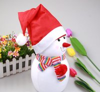 Wholesale 5000PCS HHA213 Christmas Decoration hats Santa s hat High grade Christmas hat Santa Claus hat Cute adults Christmas Cosplay Hats