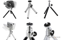 Wholesale rojects Accessories Projector Brackets New Strtchable Mini Tripod Stand Portable For Camera Phone Video Projector Silver Black