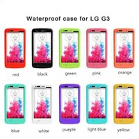 red pepper - Redpepper Cover Red pepper Waterproof Shockproof Dirtproof Case Hard PC Plastic Cover Case For LG G3 with Retail Package