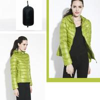 Wholesale Women s Packable Ultra Light Down Jacket Casual Fit With Hood Lightweight Parka Plus Size S XXXL