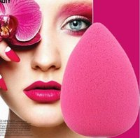 Wholesale 2pcs Makeup Foundation Sponge Blender Blending Cosmetic Puff Flawless Powder Smooth Beauty Make Up Tool