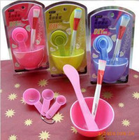 Wholesale DIY beauty Toiletry Kit facial mask bowl mask stick facial mask brush meter spoons