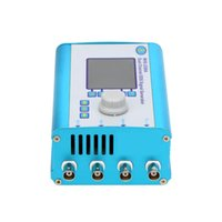 Wholesale US Plug MHz quot LCD Dual Channel DDS Function Generator Signal Generator Arbitrary Waveform With Portable Auminum Alloy