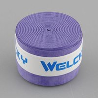 Wholesale 10 Anti slip Absorb Sweat Stretchy Racket Racquet Over Grip Overgrip Roll Bat Tennis Outdoor Sports Squash Tape Purple NEW