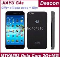 En stock! Original Jiayu G4S mtk6592 2GB 16GB 4.7 '' screen1280 gorila * 720 Jiayu G4C JY-G4 3000MAH batería blanco negro / Koccis