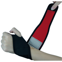 Wholesale 2015New Arrivals Weight Lifting Wrist Support Wraps Bandage Hand Sports Straps Gloves Gym Training P4 Fast Shipping