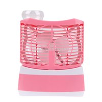 Wholesale ASLT Mini Humidifier Conditioning Fan Pink order lt no track