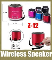 Wholesale wireles mini speaker portable amplifer subwoofer with usb port super bass z z outdoor speaker with wireless mic MIS051
