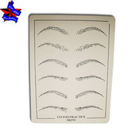 Wholesale x cm Eyebrows tattoo Practice Skin Sheet for Needle Machine Supply Kit WholesaleTattoo Supplies