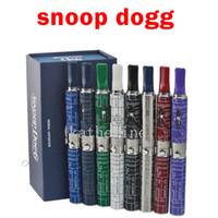 good quality - Snoop Dogg kits dry herb E cig vaporizer Starter Kits E cigarettes good quality colors instock DHL FEDEX free