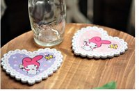 best melody - by EMS My Melody Little Twin Stars Tea Coaster Cup Mat Pads Best Gift Novelty Items