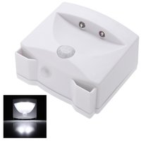 mighty light indoor - PIR Auto Energy Saving LED Indoor and Outdoor Mighty Light infrared Motion Sensor Light Activated for Cabinet Walkway Steps H14612