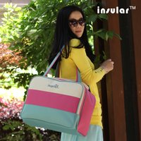 Wholesale Canvas Fashion Baby Diaper Bags Waterproof Nappy Bags Mummy Bags