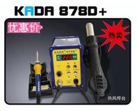 Wholesale KADA D Qatar dual function digital rework station with hot air gun soldering iron welding station in Combination